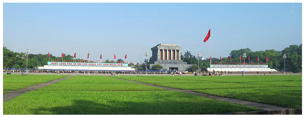Quảng trường BaĐìnhvà lăng Chủ tịch Hồ Chí Minh