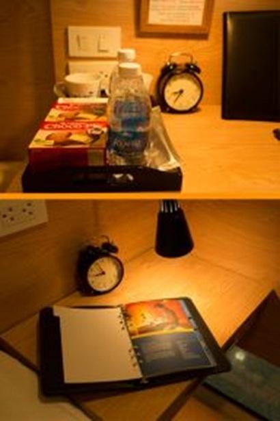 đồ miễn phí đi kèm trong Hộp ngủ tại sân bay Nội Bài