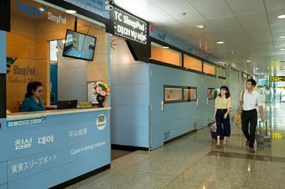 dịch vụ hộp ngủ tại nhà ga T2 Sân bay Nội Bài
