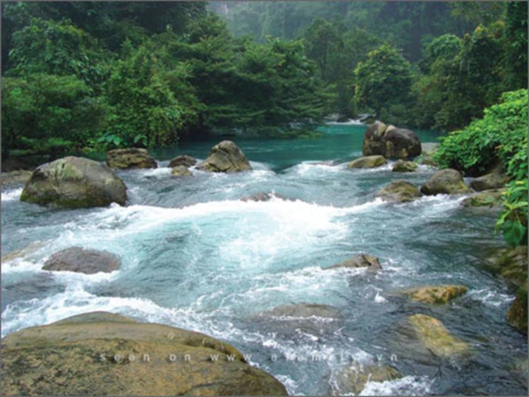 Suối khoáng nóng Kênh gà - Ninh Bình
